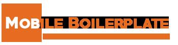 Mobile Boiler Plate